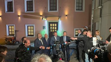 Konferencja po poniedziałkowych negocjacjach ws. Turowa
