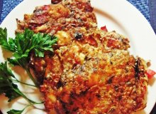 Placuszki z kurczaka z sezamem - ugotuj