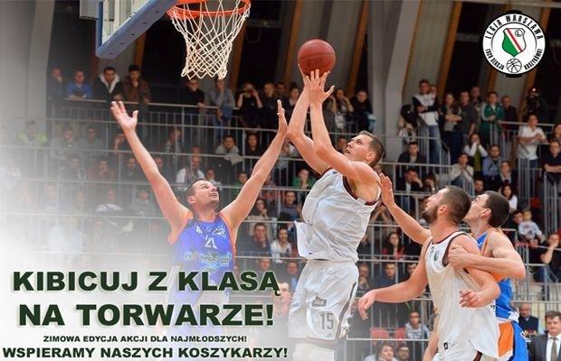 Koszykarze zapraszają na Torwar
