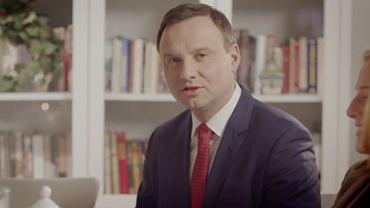 Andrzej Duda - kadr ze spotu