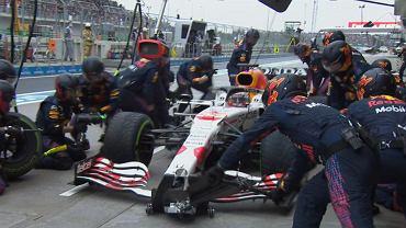 Max Verstappen podczas GP Turcji