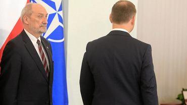 Min. Antoni Macierewicz i prezydent Andrzej Duda