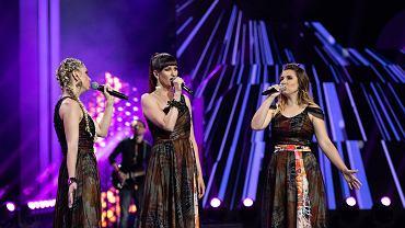 Pierwszy dzień festiwalu w Opolu.  Debiuty - zespół Girls On Fire, zwycięzca konkursu.