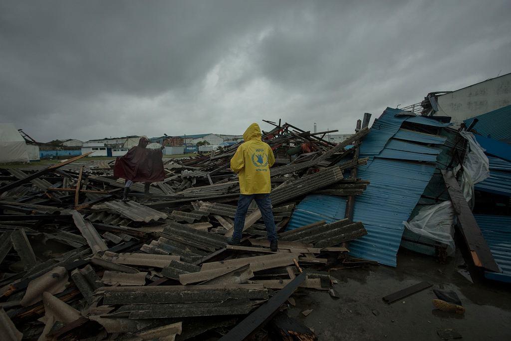 Skutki uderzenia cyklonu Idai w Mozambiku