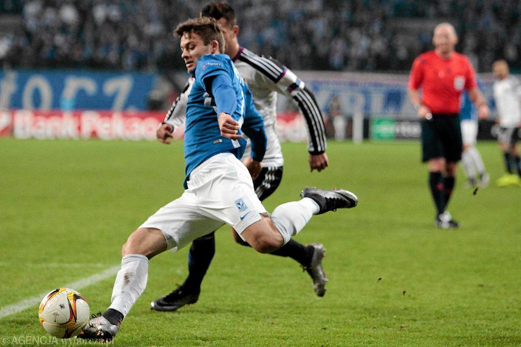 Lech Poznań - FC Basel 0:1. Karol Linetty