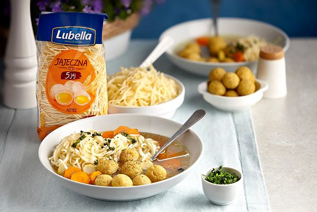 Poczuj smak domowych chwil z nowym makaronem jajecznym od Lubelli