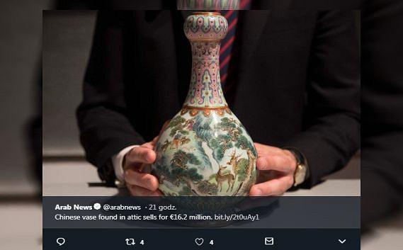 Znaleźli wazon na strychu. okazało się, że jest warty fortunę