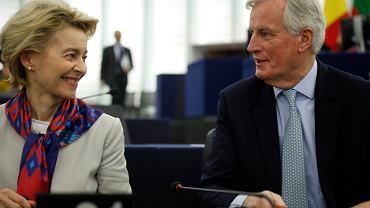 Przewodnicząca KE i główny negocjator Londynu ds. brexitu