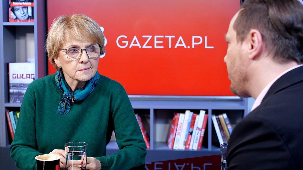 Danuta Huebner w Gazeta.pl