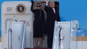Pożegnanie Donalda Trumpa