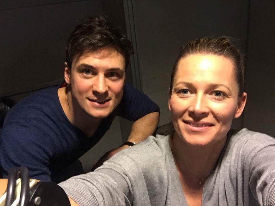 Odeta Moro i Mateusz Damięcki w programie 'Morowy Weekend'
