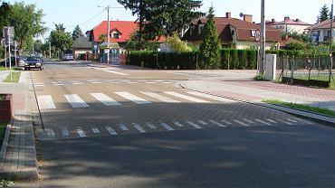 Miasteczko holenderskie w Puławach, skrzyżowanie ul. Kilińskiego i Zabłockiego