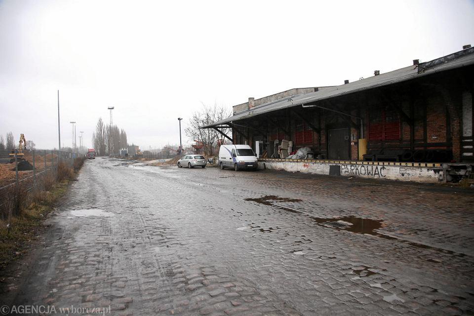 Stacja Szczecin Port Centralny (przed wojną Güterbahnhof). To stąd 13 lutego 1940 r. transport z pomorskimi Żydami wyruszył na Lubelszczyznę