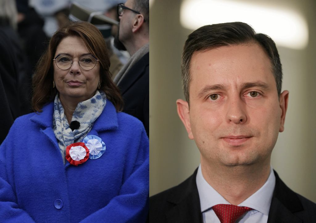 Kandydaci na prezydenta Małgorzata Kidawa-Błońska i Władysław Kosiniak-Kamysz