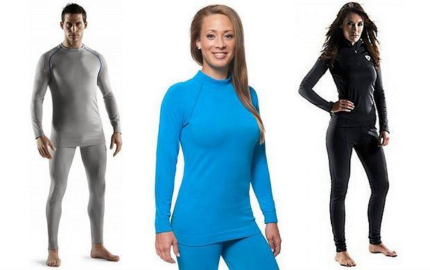 Ubrania termiczne dla kobiet i mężczyzn