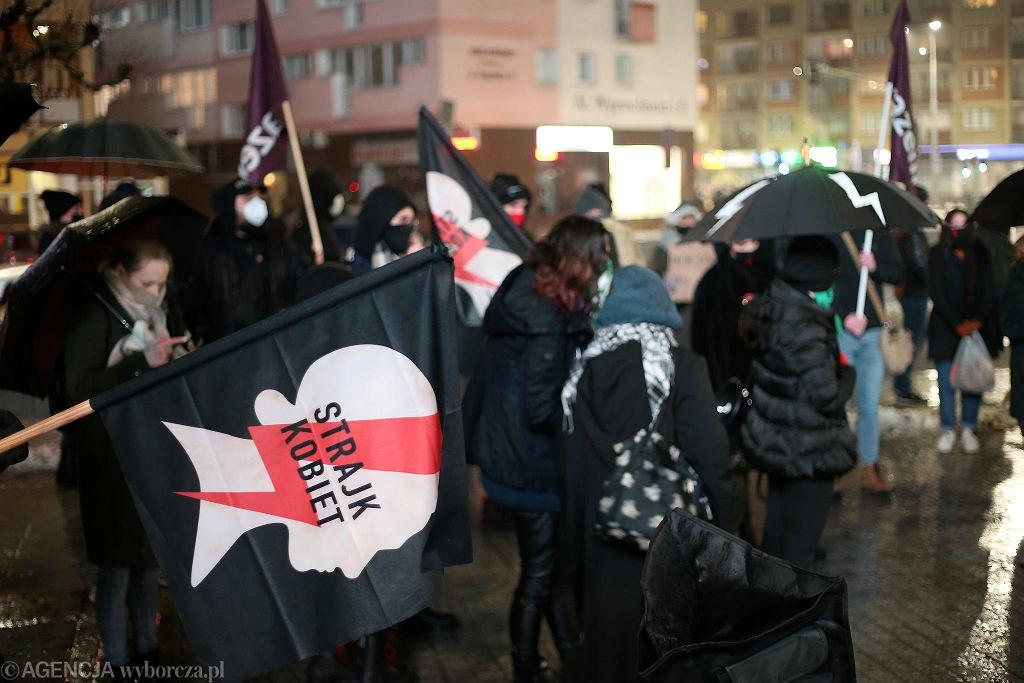 Strajk Kobiet. Zdjęcie ilustracyjne