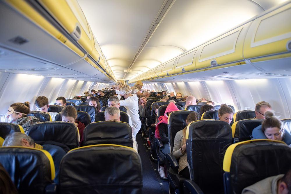 Pasażerowie sześć godzin czekali na pokładzie aż samolot odleci