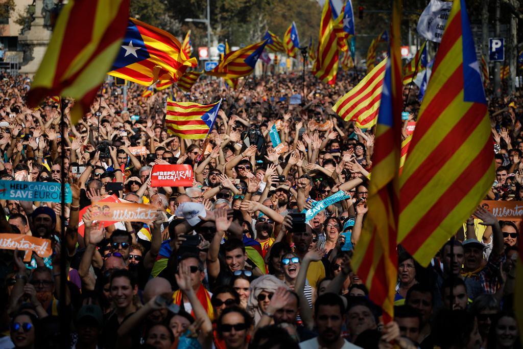 Parlament Katalonii wybrał niepodległość