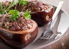 Bakłażan faszerowany - smaczny, zdrowy i pożywny