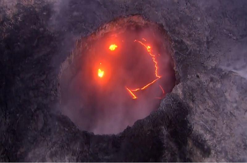 fot.Youtube/Storyful News (Wulkan Kilauea)