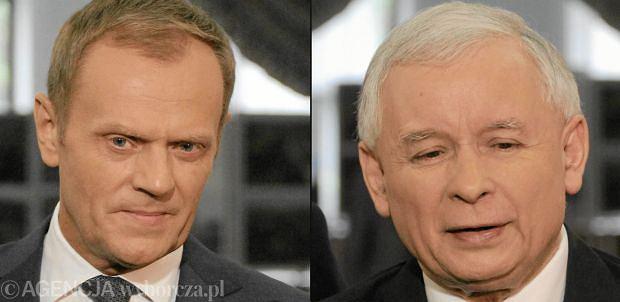 Donald Tusk/Jarosław Kaczyński