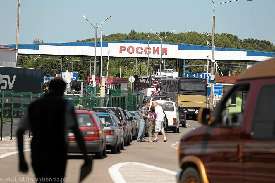 Przejście graniczne z Rosją w Bezledach