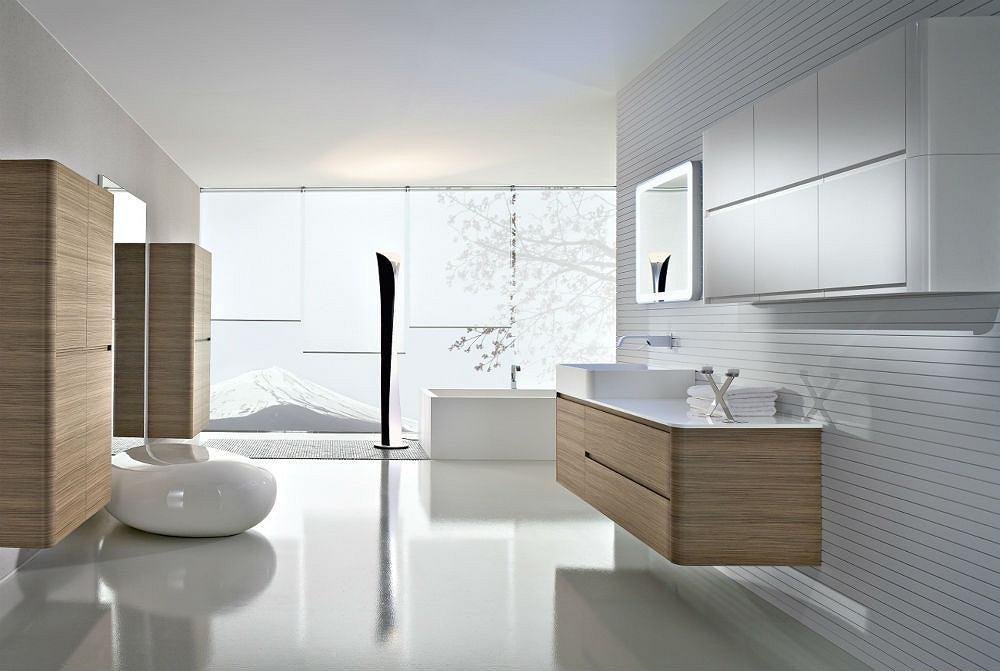 Jasna łazienka w stylu nowoczesnym
