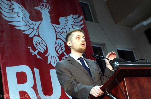 Robert Winnicki z Ruchu Narodowego