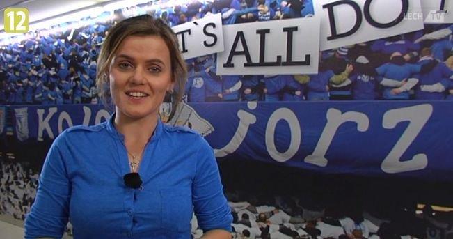 Aleksandra Kropielnicka z LechTV
