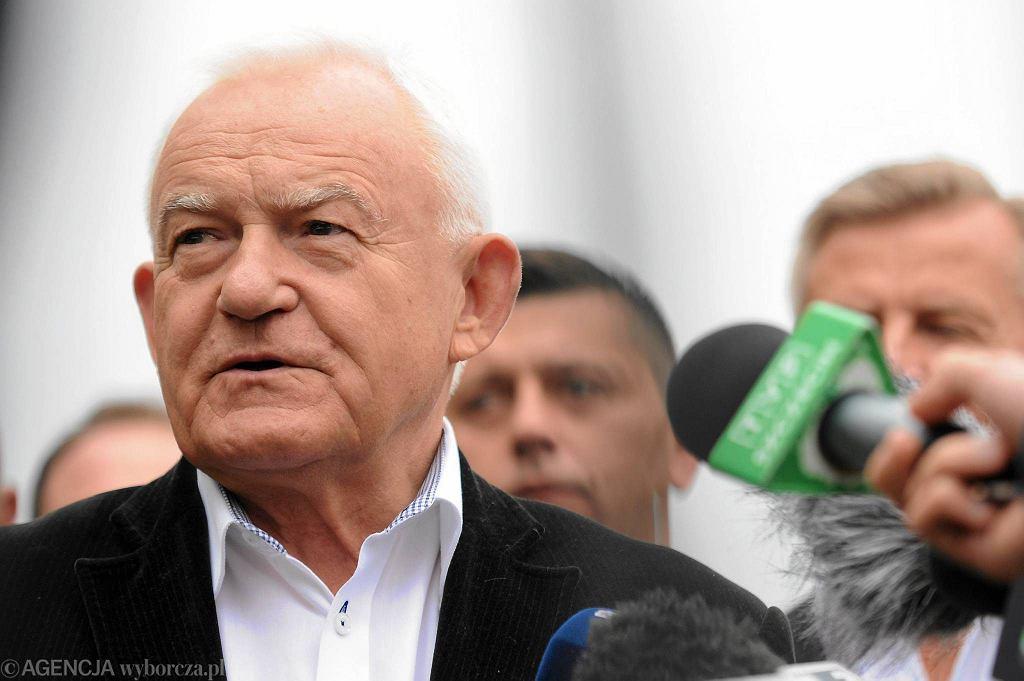 Leszek Miller w Szczecinie