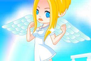 Ubieranka: własny aniołek