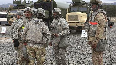 Ćwiczenia amerykańskich żołnierzy na Półwyspie Koreańskim