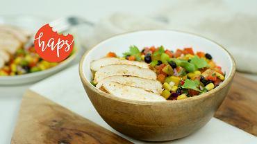 Tęczowa salsa Haps