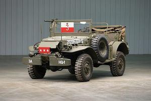 Samochód generała Pattona trafi na aukcję. Służył na froncie w 3. Armii