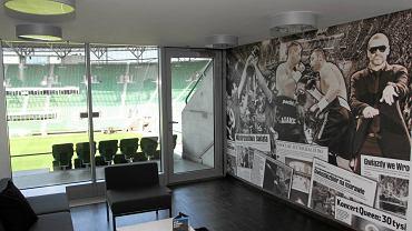 Loża VIP na wrocławskim stadionie