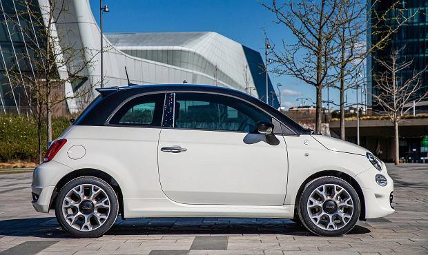 Fiat 500 Hey Google