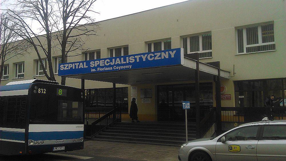 Szpital Specjalistyczny im. F. Ceynowy w Wejherowie.