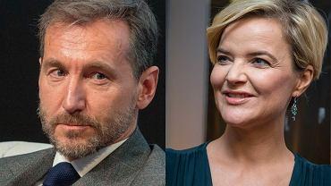 Piotr Kraśko i Monika Zamachowska