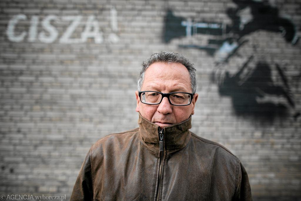 Reżyser Andrzej Titkow. Warszawa, 1 października 2012