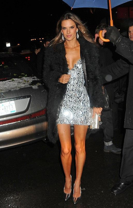 2012 Victoria's Secret Fashion Show After Party at Lavo NYC.   Pictured: Alessandra Ambrosio