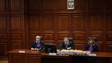 Ogłoszenie wyroku w procesie Tomasza Arabskiego w Warszawie