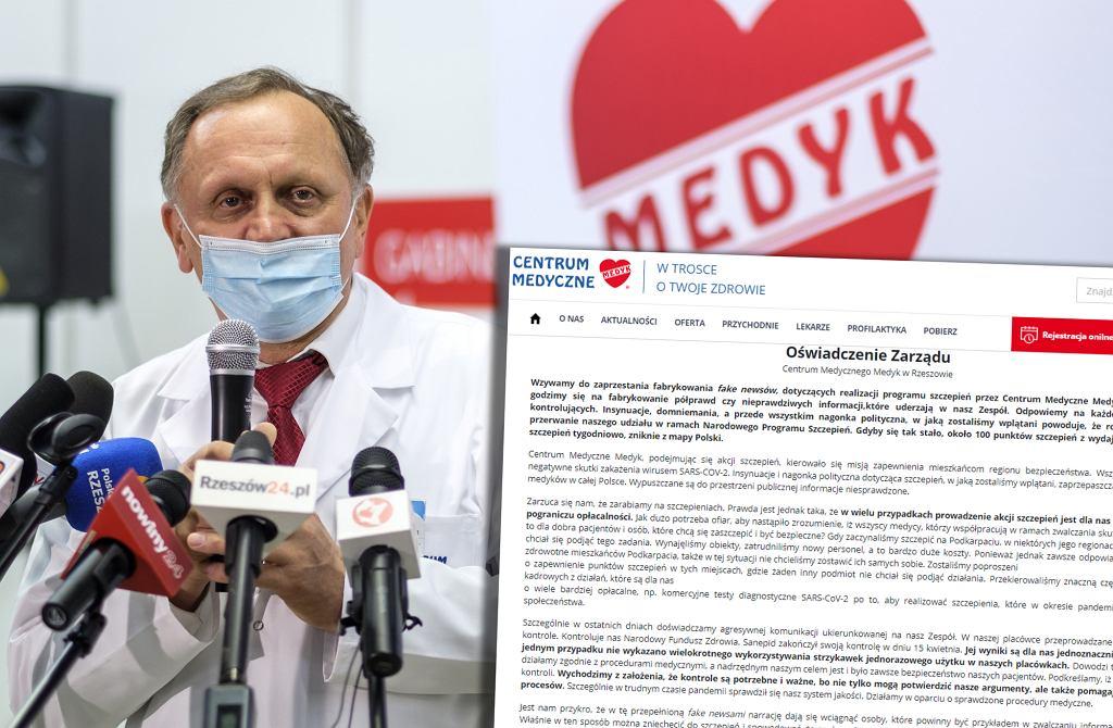 Dr Stanisław Mazur, prezes Centrum Medycznego Medyk