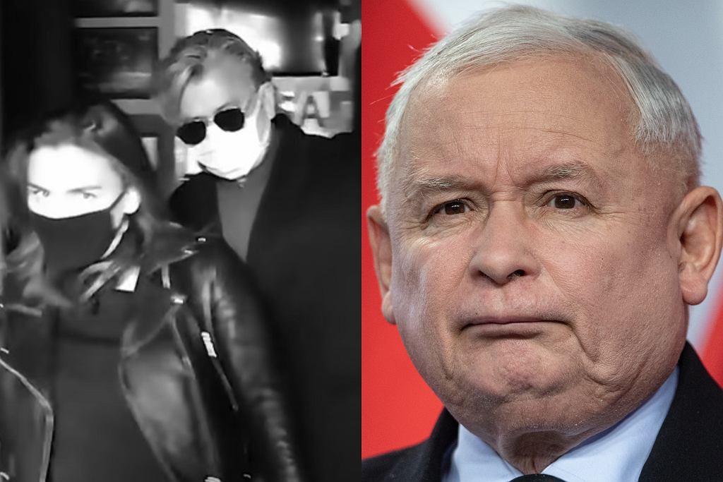 Natasza Urbańska, Józef Urbański i Jarosław Kaczyński