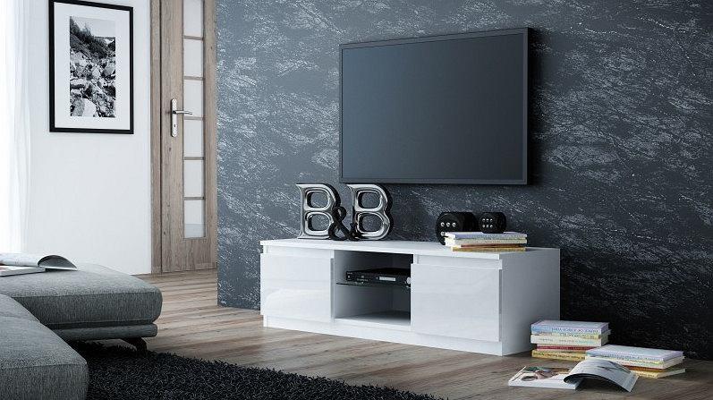 Minimalistyczna szafka pod telewizor