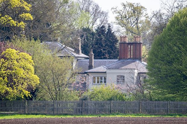 Mandatory Credit: Photo by REX/Shutterstock (10196791c)  Frogmore Cottage in the grounds of Windsor Castle, the new home of the Duke and Duchess of Sussex.  Frogmore Cottage, Windsor, UK - 10 Apr 2019