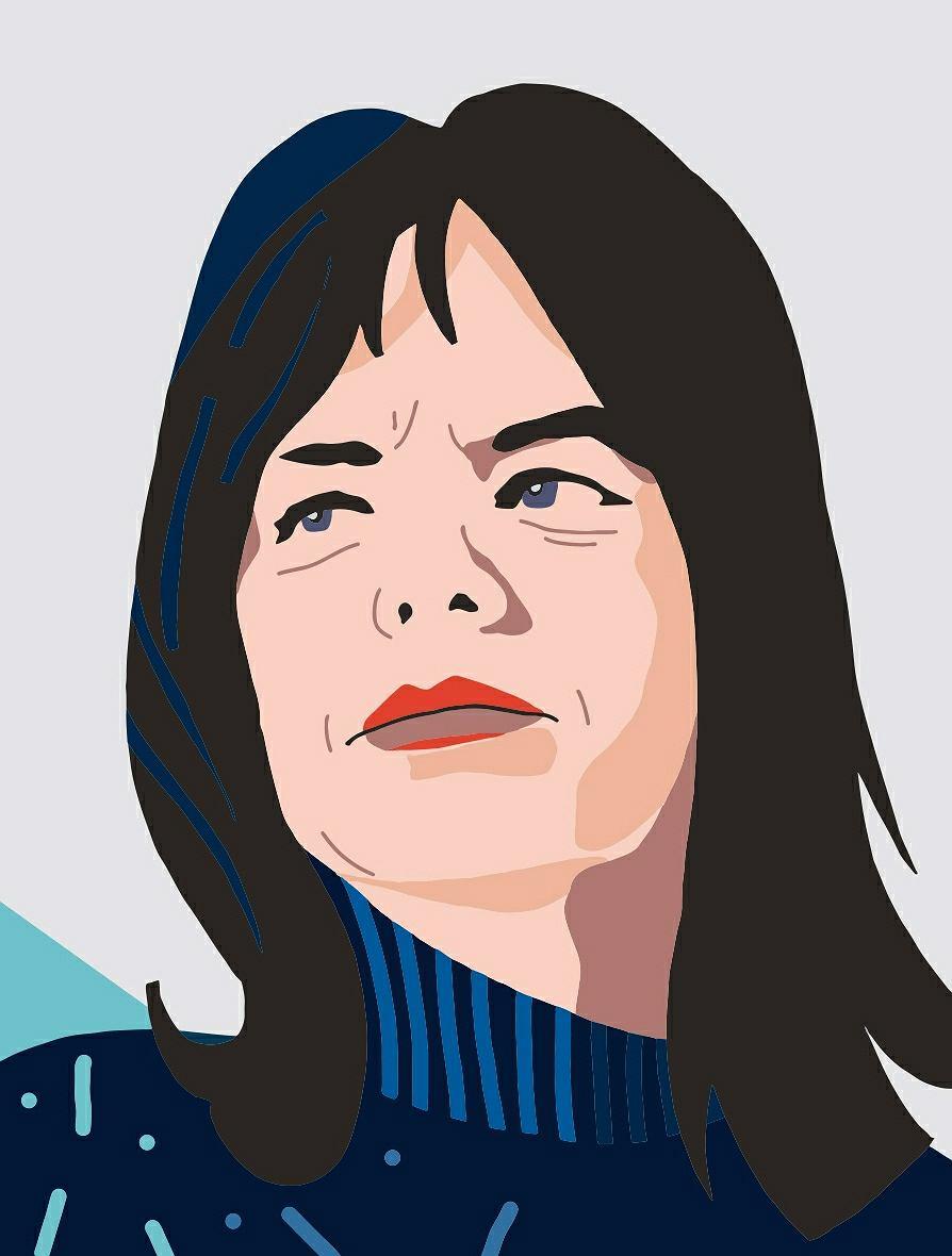 Anka Kowalska, fragment muralu 'Kobiety Wolności'