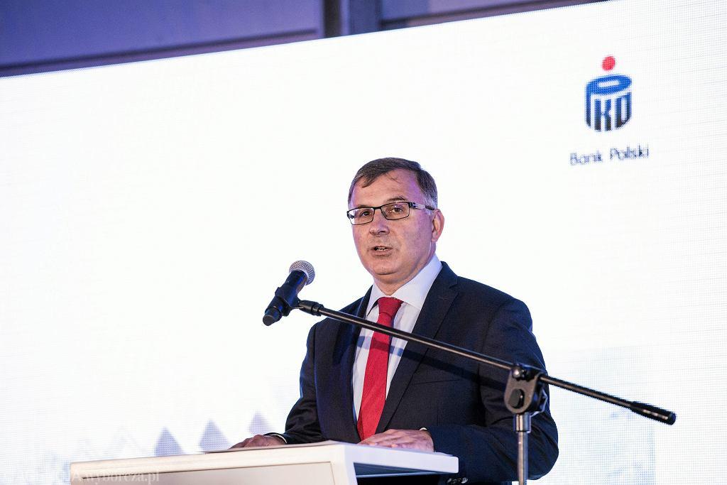 Zbigniew Jagiełło, prezes PKO BP