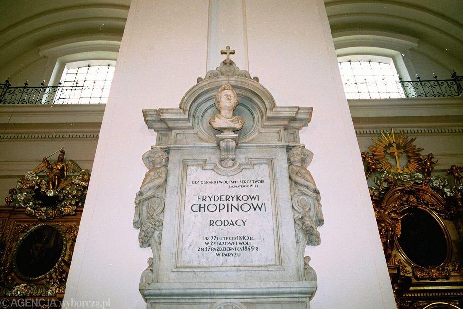 Kościół św. Krzyża w Warszawie. Tu spoczywa serce Fryderyka Chopina