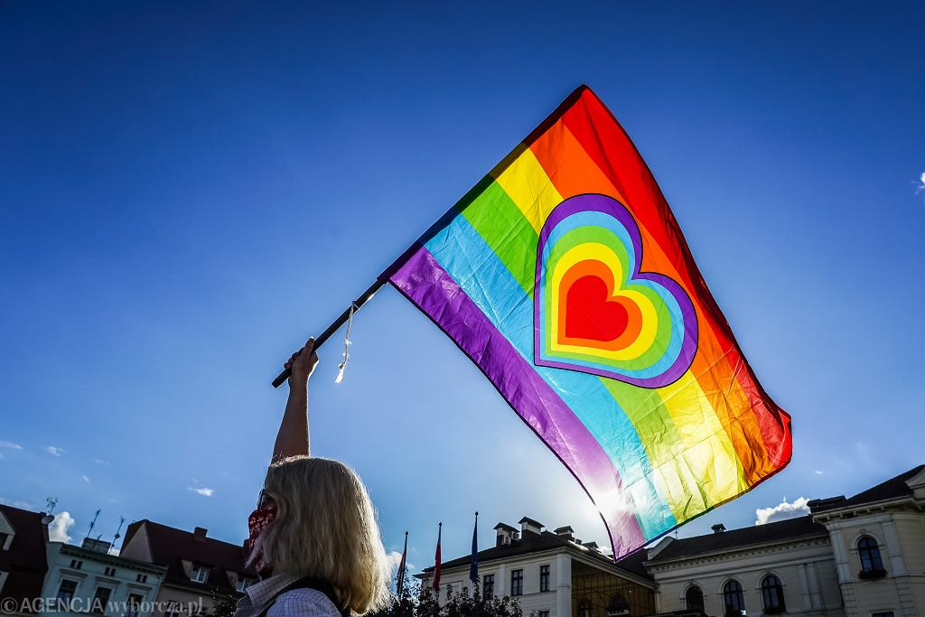 Manifestacja środowisk LGBT