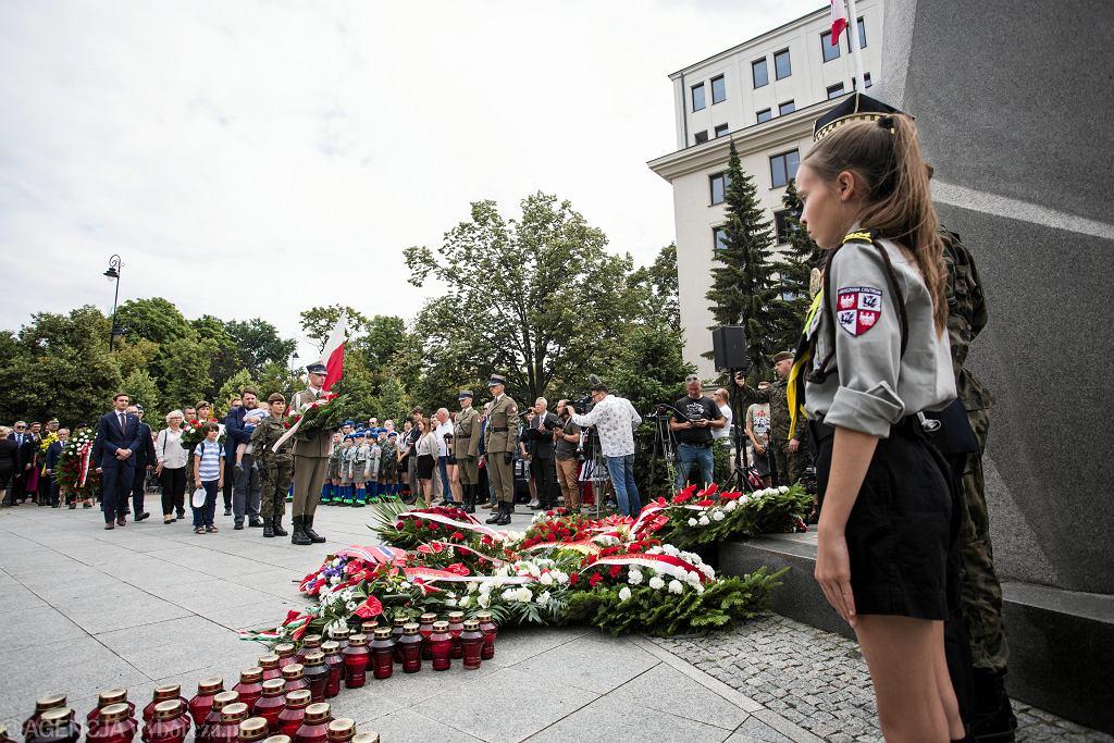 Obchody w Warszawie 75. rocznicy wybuchu powstania warszawskiego